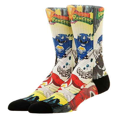 Chaussettes Power Rangers