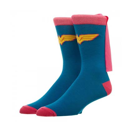 Chaussettes Wonder Woman - Cape