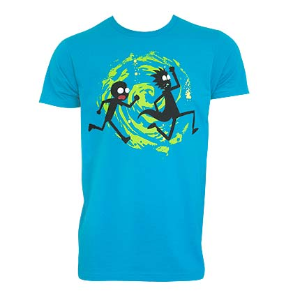 T-shirt Rick and Morty - Swirl