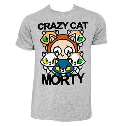 T-shirt Rick and Morty - Crazy Cat