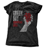 T-shirt Green Day: American Idiot Vintage