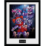 Poster Encadré Five Nights at Freddy's Framed Print - Sister Location Group