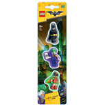 LEGO Batman Movie pack 3 gommes
