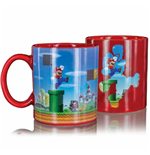 Super Mario mug décor thermique Level