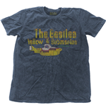 T-shirt Beatles pour homme - Design: Yellow Submarine Nothing Is Real