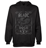 Sweat-shirt AC/DC unisexe - Design: Cannon Swig