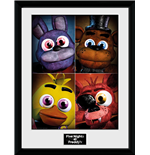 Image Encadrée Five Nights at Freddy's - Quad