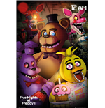 Poster Five Nights at Freddy's - Group
