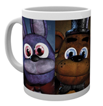 Tasse Five Nights At Freddys - Faces