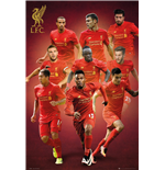 Poster Liverpool FC Joueurs 2016/2017
