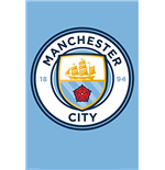 Poster Manchester City FC - Club Crest