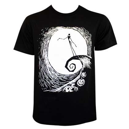 T-shirt Nightmare before Christmas pour homme