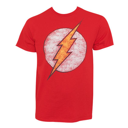 T-shirt The Flash - Distressed Logo
