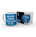 Tasse The Big Bang Theory - Sheldon Cooper Apologised
