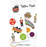 Tatouage Big Bang Theory 254111