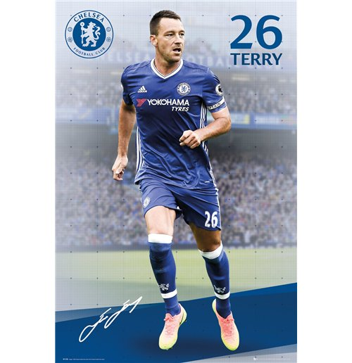 Poster Chelsea FC - Terry 2016/17