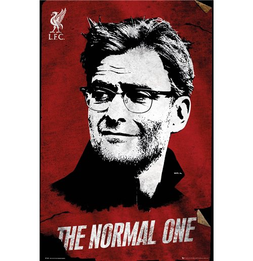 Poster Liverpool FC - The Normal One