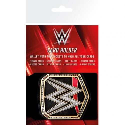Porte-cartes WWE - Title Belt