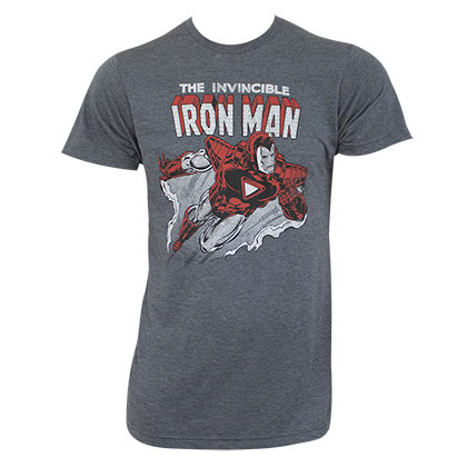 T-shirt Iron Man - Invincible