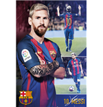 Poster FC Barcelone - Messi Collage 16/17