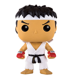 Street Fighter POP! Games Vinyl figurine Ryu White Headband 9 cm