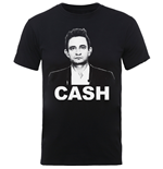 T-shirt Johnny Cash pour homme - Design: Straight Stare