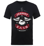 T-shirt Johnny Cash: Winged Guitar
