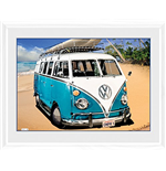 Photo Encadrée Volkswagen - Camping-car