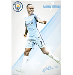 Poster Manchester City - Sterling 2016/17