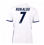 Maillot de Football Real Madrid UCL Home 2015-2016 (Ronaldo 7) - Enfants