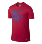 T-shirt FC Barcelone 2016-2017 (Rouge)
