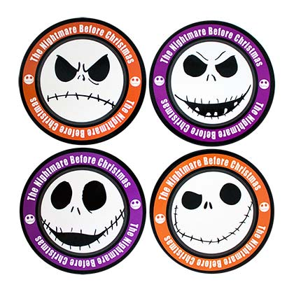 Sous-verres Nightmare before Christmas