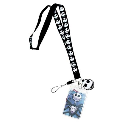 Cordon et Porte-badge Nightmare before Christmas