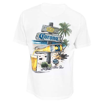 T-shirt Corona Extra - Beach Sign