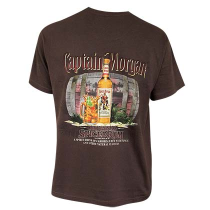 T-shirt Captain Morgan - Spiced Rum
