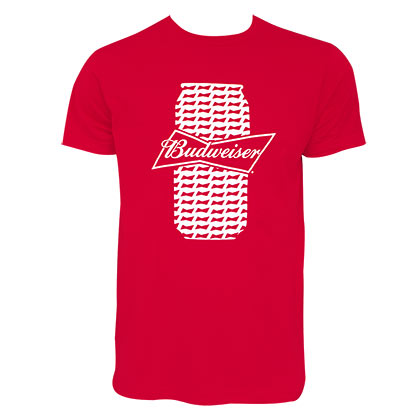 T-shirt Budweiser - Beer Can