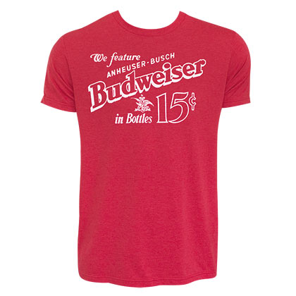 T-shirt Budweiser - Old School