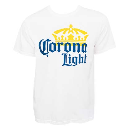 T-shirt Corona Light - Logo