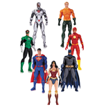 DC Rebirth Justice League pack 7 figurines 18 cm