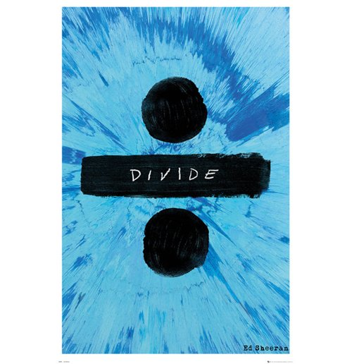 Poster Ed Sheeran - Divide
