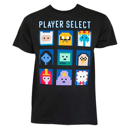 T-shirt Adventure Time - Player Select