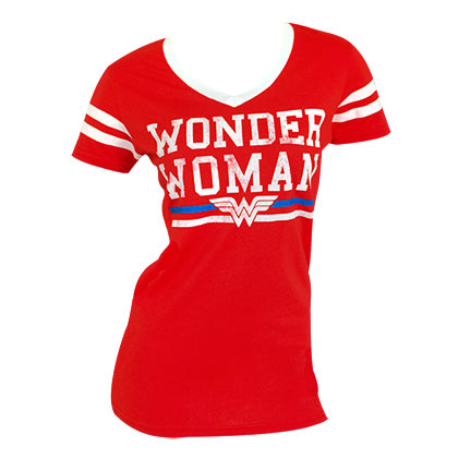 T-shirt Varsity Wonder Woman