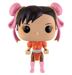 Street Fighter Figurine POP! Games Vinyl Chun-Li (Red Outfit) 9 cm