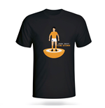 T-shirt Hollande Football (Noir)