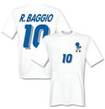 T-shirt Italie Football Away (Blanc)