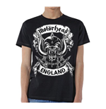 T-shirt Motorhead: Crossed Swords England Crest