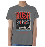 T-shirt Rush: World a Stage Tour 1977