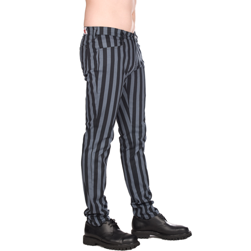 Pantalon Black Pistol Stripe Denim