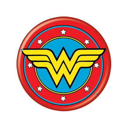 Badge Wonder Woman - Comic