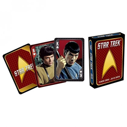 Jeu de Cartes Star Trek